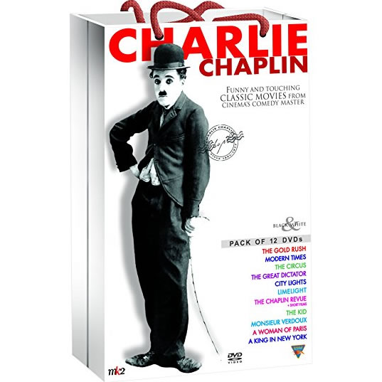 Charlie Chaplin Classic Collection DVD