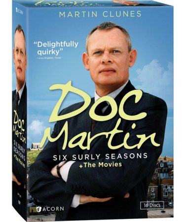 Doc Martin: Six Surly Seasons and The Movies DVD