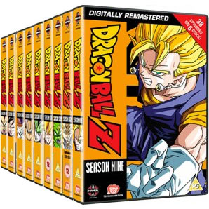 Dragonball Z Seasons 1-9 DVD
