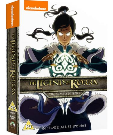 Legend of Korra Complete Series DVD Box Set