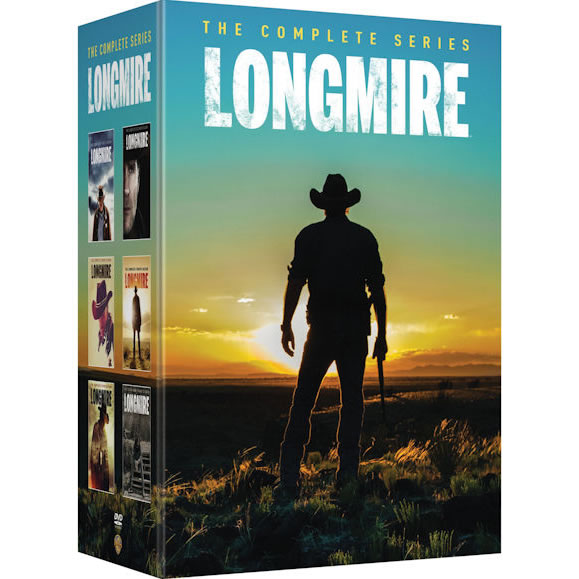 Longmire - The Complete Series DVD