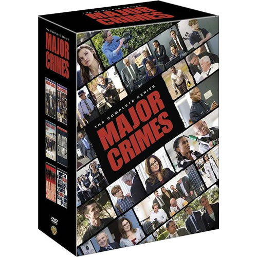 Major Crimes: The Complete Series 1-6 DVD