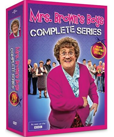 Mrs. Brown's Boys - The Complete Series DVD