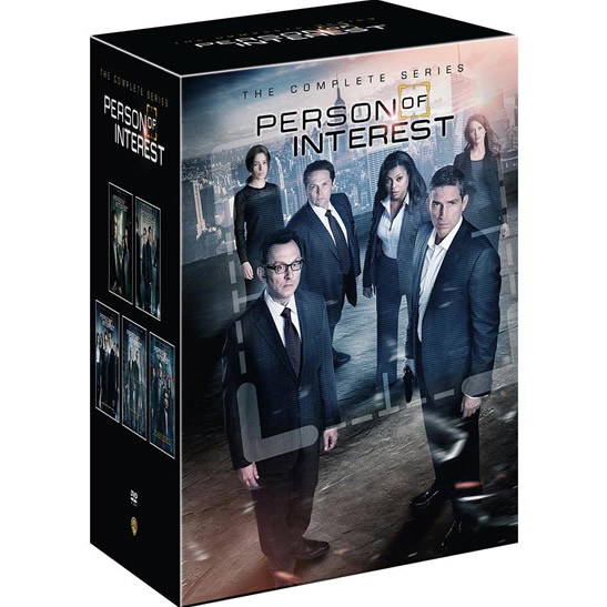 Person of Interest: The Complete Series 1-5 DVD