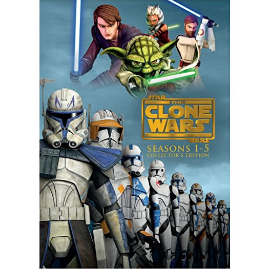 Star Wars: The Clone Wars: The Complete Series 1-5 DVD