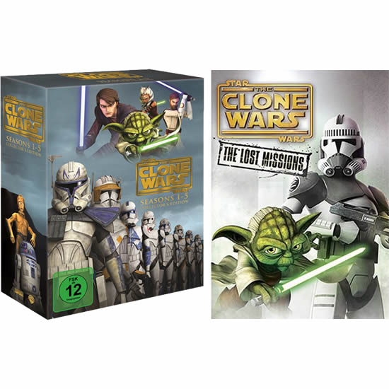 Star Wars: The Clone Wars DVD Box Set
