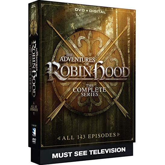 The Adventures of Robin Hood - The Complete Series DVD