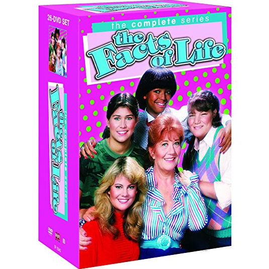 The Facts Of Life - The Complete Series DVD