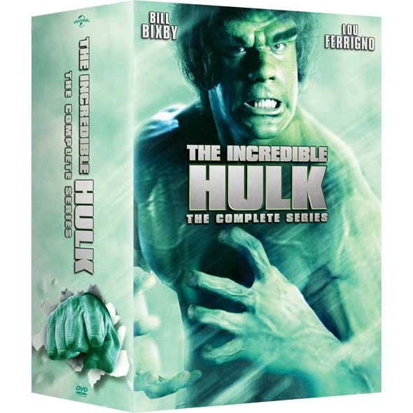 The Incredible Hulk - The Complete Series DVD