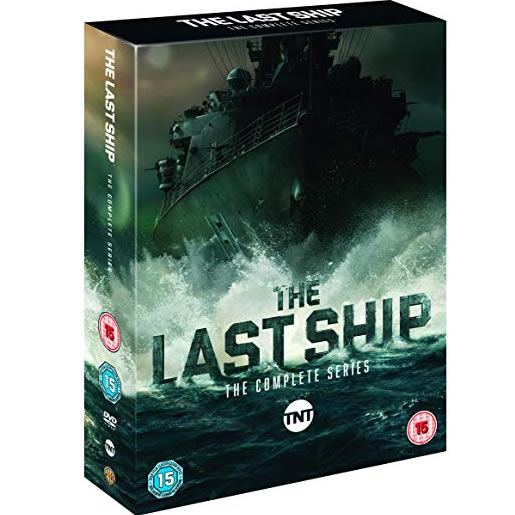 The Last Ship: The Complete Series 1-5 DVD