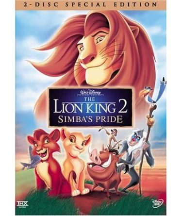 The Lion King 2 DVD