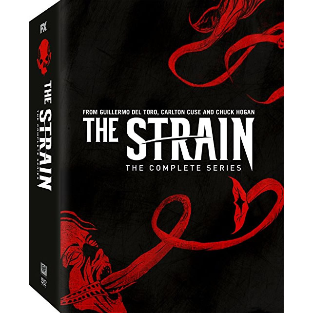 The Strain: The Complete Series 1-4 DVD