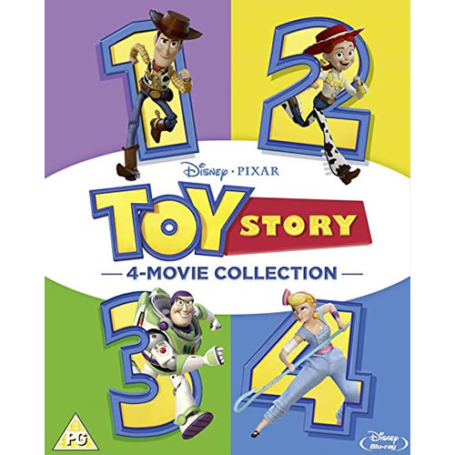 Toy Story 1-4 DVD