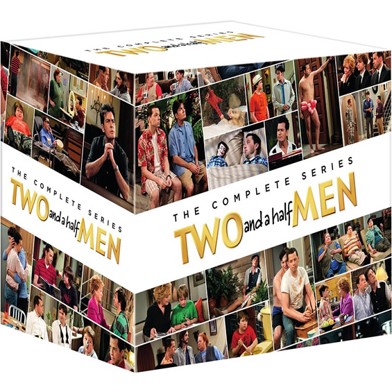Two and a Half Men - The Complete Series DVD