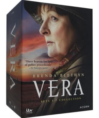 Vera Complete Series Sets 1-7 Collection DVD