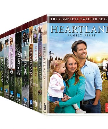 Heartland 1-12 DVD Pack