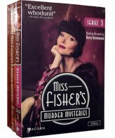 Miss Fisher's Murder Mysteries Season 1-3 DVD Pack