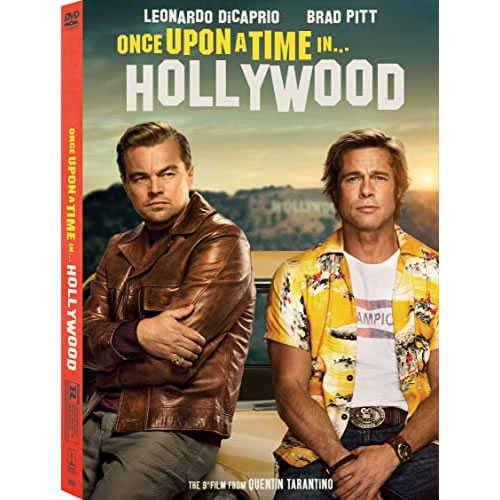 Once upon a Time in Hollywood DVD