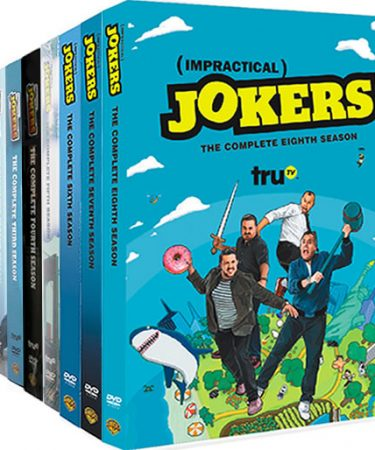 Impractical Jokers Season 1-8 DVD Pack