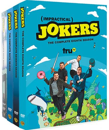 Impractical Jokers Season 5-8 DVD Pack