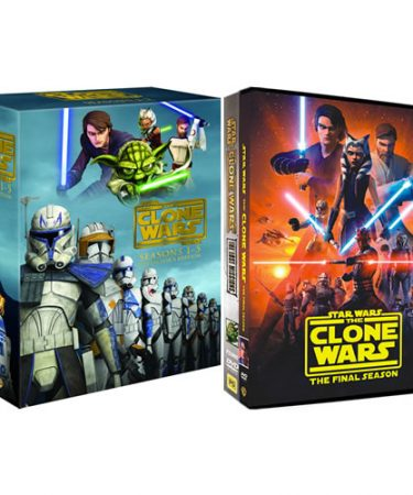 Star Wars: The Clone Wars Season 1-7 DVD Pack