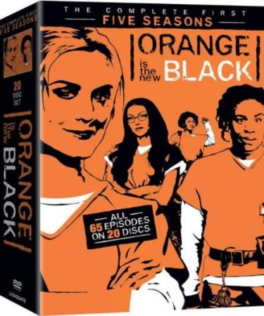 Orange Is The New Black Season 1-5 DVD Pack