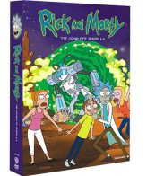 Rick and Morty Season 1-4 DVD Pack
