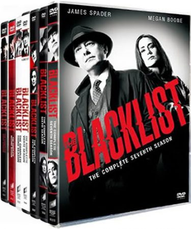 The Blacklist Season 1-7 DVD Pack
