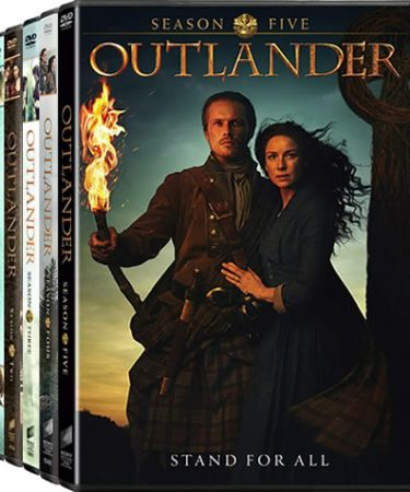 Outlander Season 1-5 DVD Pack