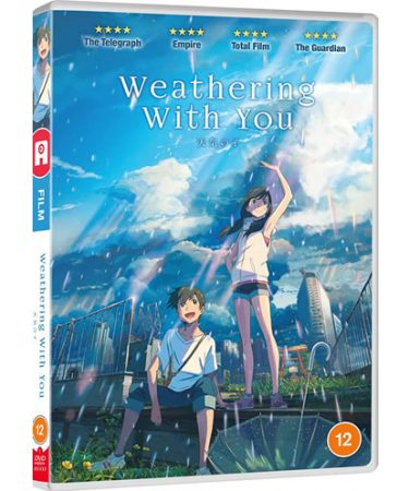Weathering With You DVD