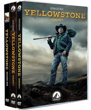 Yellowstone Season 1-3 DVD Pack