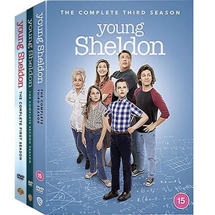 Young Sheldon Season 1-3 DVD Pack