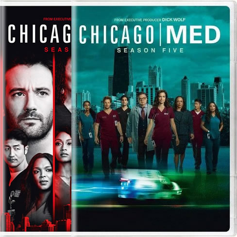 Chicago Med Season 4-5 DVD Pack