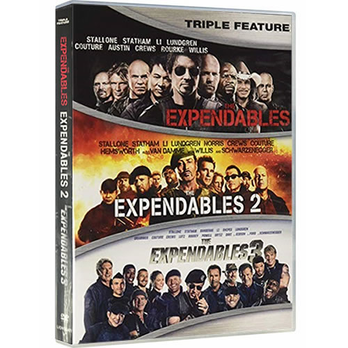 The Expendables 1-3 DVD