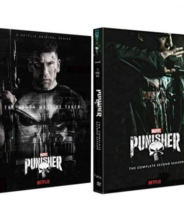 The Punisher Season 1-2 DVD Pack