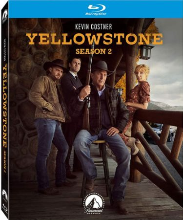 Yellowstone Complete Season 2 Blu-ray Region Free Blu-ray
