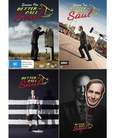 Better Call Saul Season 1-4 DVD Pack