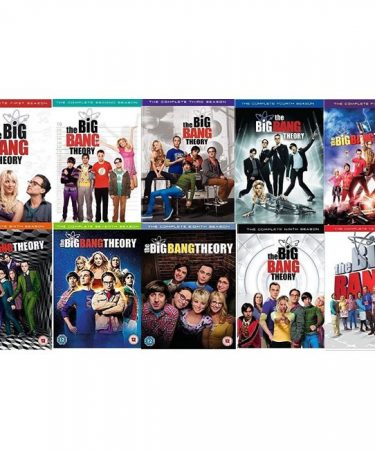 The Big Bang Theory Season 1-10 DVD Pack