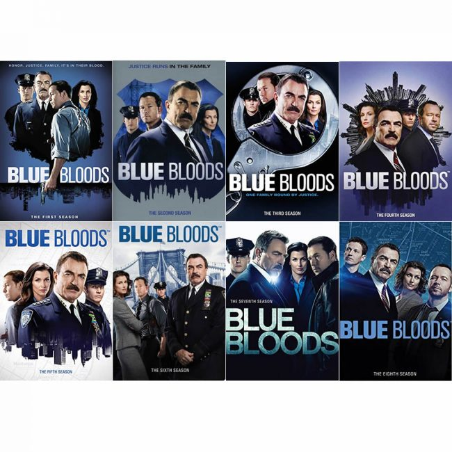 Blue Bloods Season 1-8 DVD Pack
