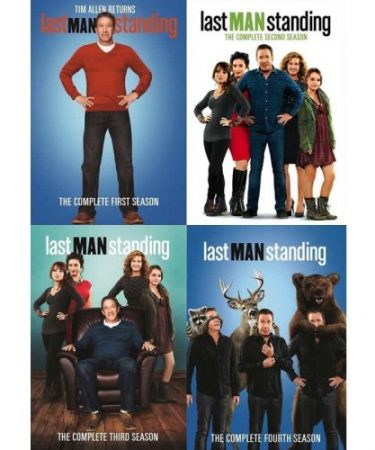 Last Man Standing Season 1-4 DVD Pack