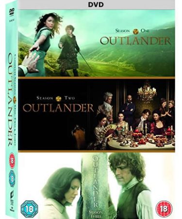 Outlander Season 1-3 DVD Pack