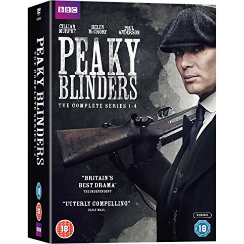 Peaky Blinders Season 1-4 DVD Pack