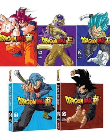 Dragon Ball Z Super Part 1-5 DVD