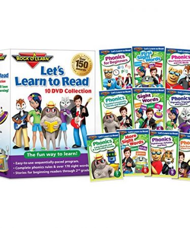 Let's Learn to Read by Rock N Learn DVD
