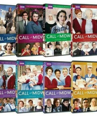 Call the Midwife Season 1-8 DVD Pack