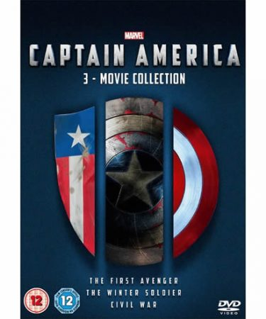 Captain America Season 1-3 DVD Pack