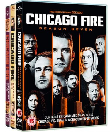 Chicago Fire Season 5-7 DVD Pack