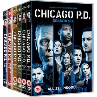 Chicago PD Season 1-6 DVD Pack
