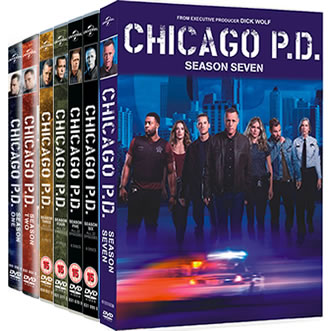 Chicago PD Season 1-7 DVD Pack