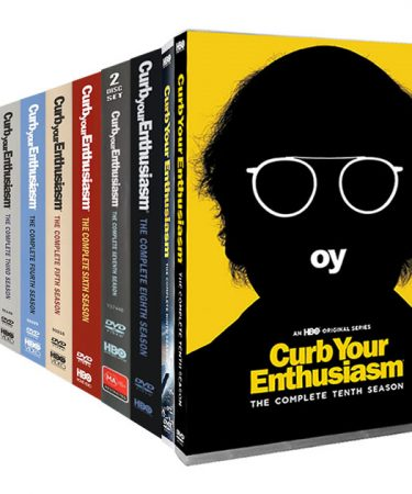 Curb Your Enthusiasm Season 1-10 DVD Pack